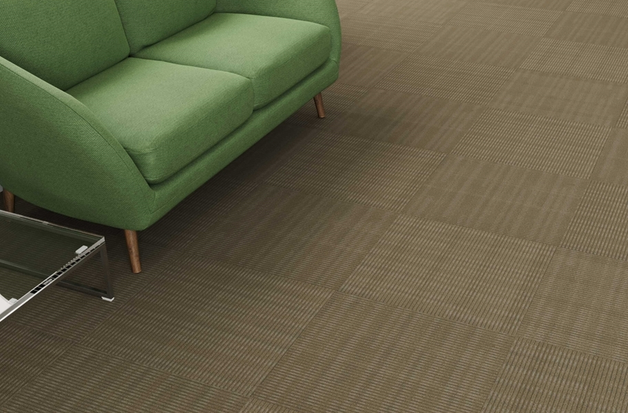 Pentz Sidewinder Carpet Tiles - Camelback