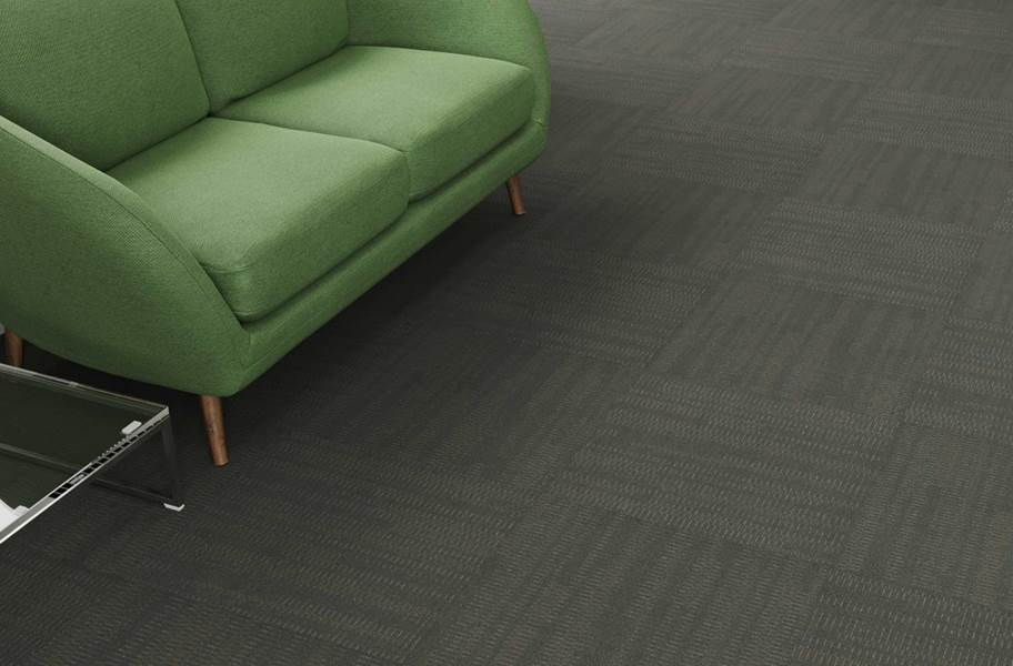 Pentz Sidewinder Carpet Tiles - Silver Mine
