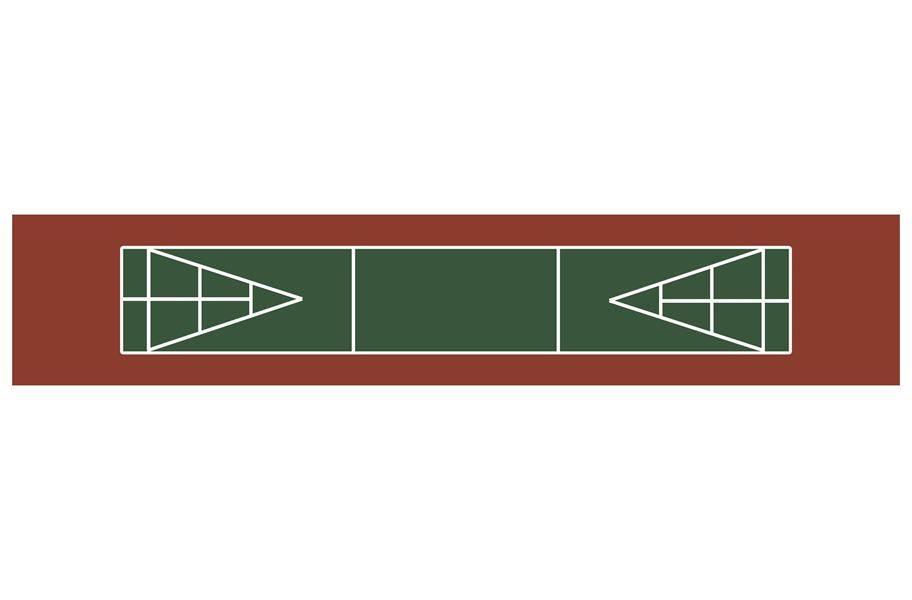 Shuffleboard Court Kit