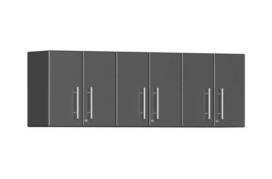 Ulti-MATE Garage 2.0 3-PC Wall Cabinet Kit - Graphite Grey Metallic