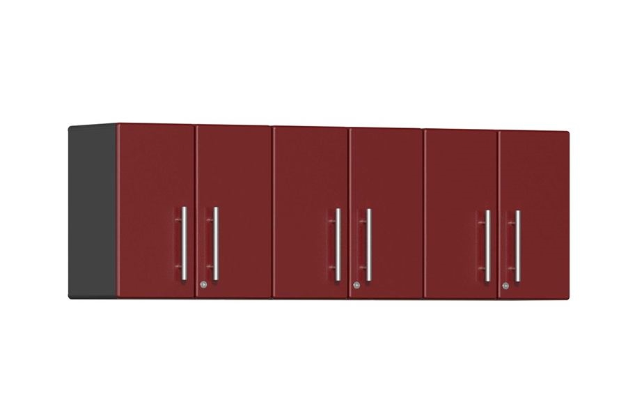Ulti-MATE Garage 2.0 3-PC Wall Cabinet Kit - Ruby Red Metallic