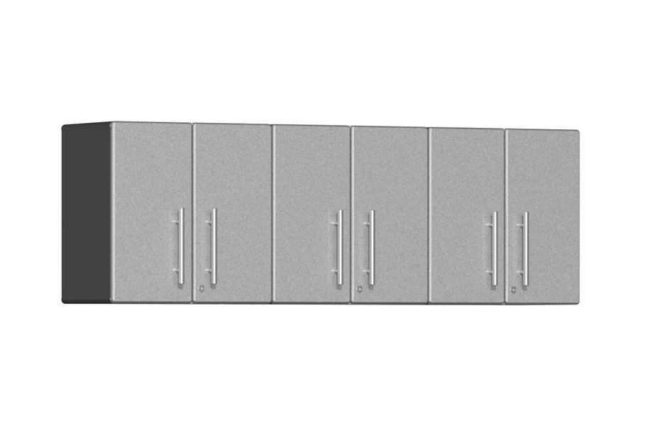 Ulti-MATE Garage 2.0 3-PC Wall Cabinet Kit - Stardust Silver Metallic