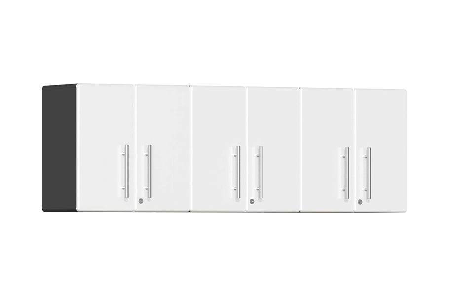 Ulti-MATE Garage 2.0 3-PC Wall Cabinet Kit - Starfire White Metallic