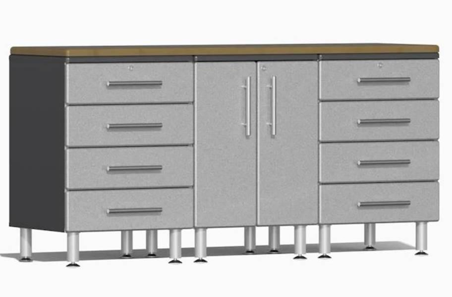 Ulti-MATE Garage 2.0 4-PC Workstation Kit - Stardust Silver Metallic v2