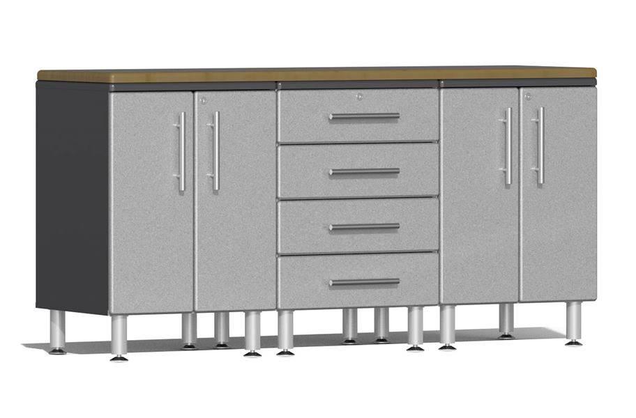 Ulti-MATE Garage 2.0 4-PC Workstation Kit - Stardust Silver Metallic