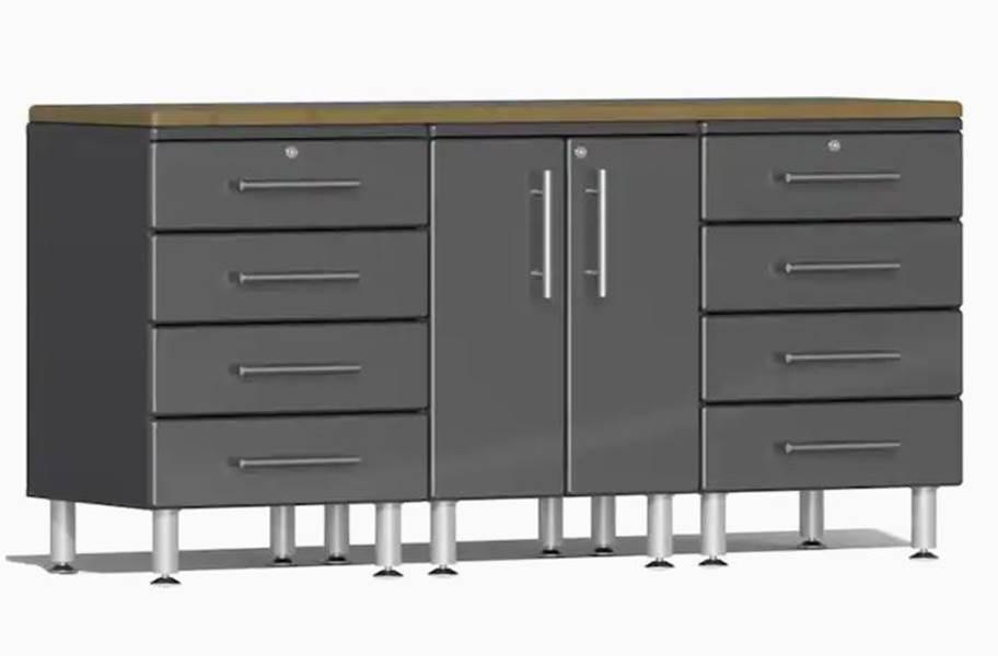 Ulti-MATE Garage 2.0 4-PC Workstation Kit - Graphite Grey Metallic v2