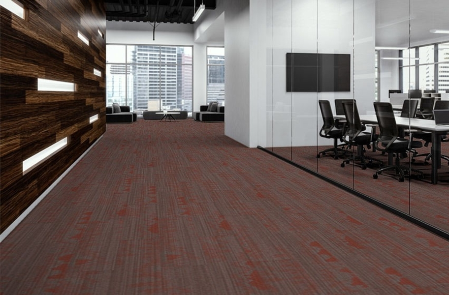 EF Contract Pool Carpet Planks - Matador