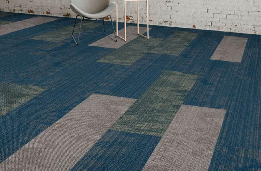 EF Contract Pool Carpet Planks - Driftwood, Luminol, Squid