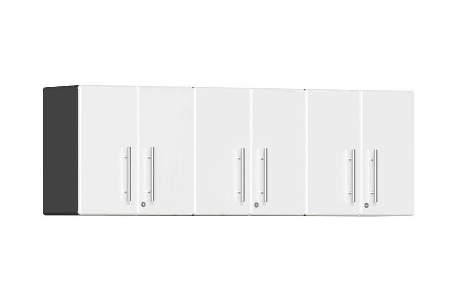 Ulti-MATE Garage 2.0 3-Piece Wall Cabinet Kit - Starfire White Metallic