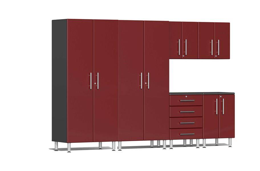 Ulti-MATE Garage 2.0 6-PC Kit - Ruby Red Metallic