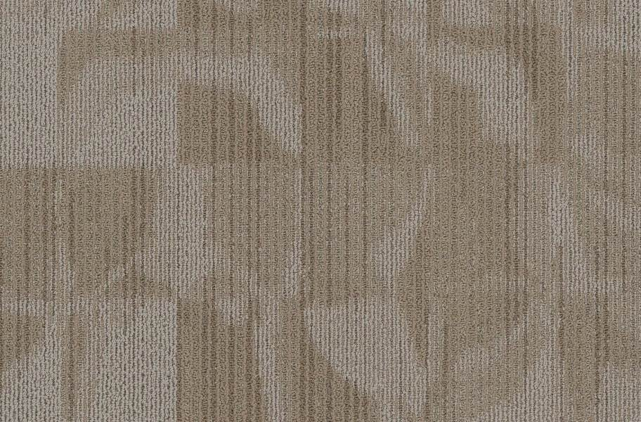 EF Contract Crease Carpet Tiles - Rice Paper