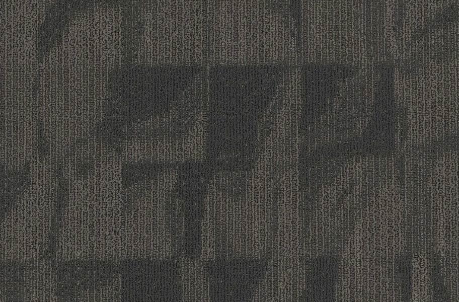 EF Contract Crease Carpet Tiles - Carbon Paper