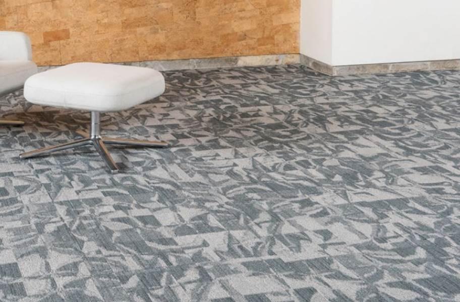 EF Contract Crease Carpet Tiles - Cellophane