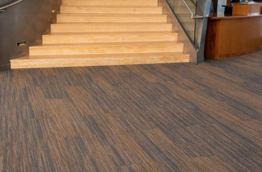 EF Contract Pleat Carpet Planks - Card Stock