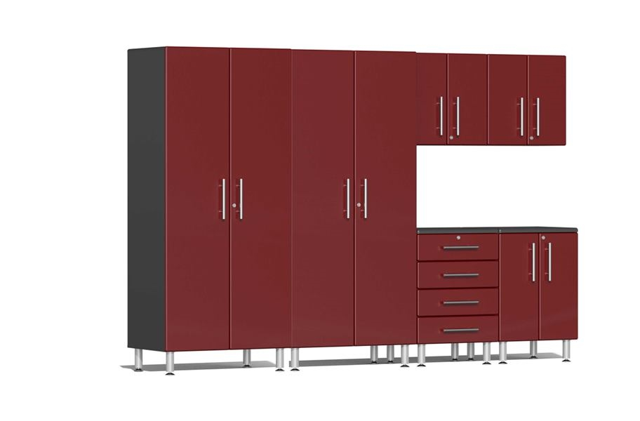 Ulti-MATE Garage 2.0 Series 6-Piece Kit - Ruby Red Metallic