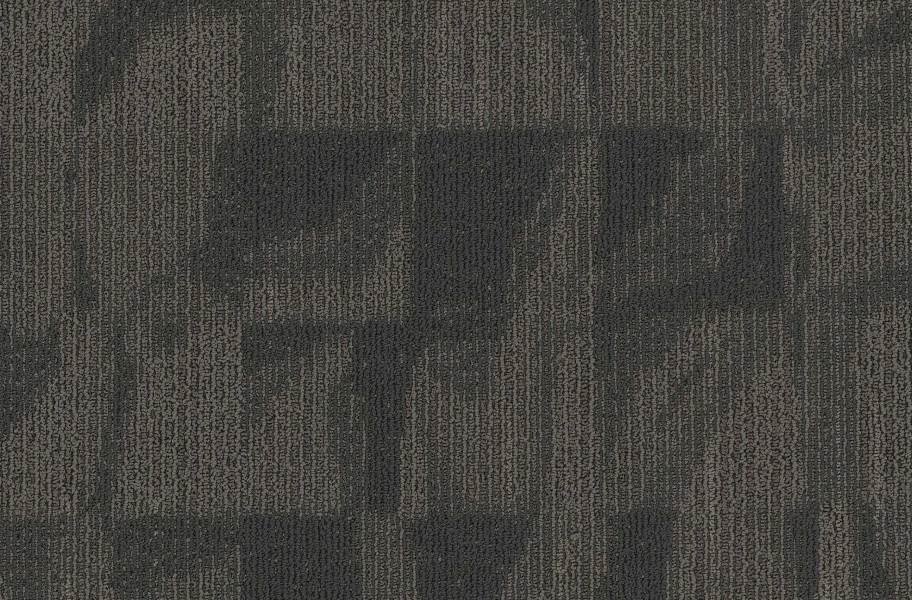 EF Contract Crease Carpet Tiles - Carbon Paper