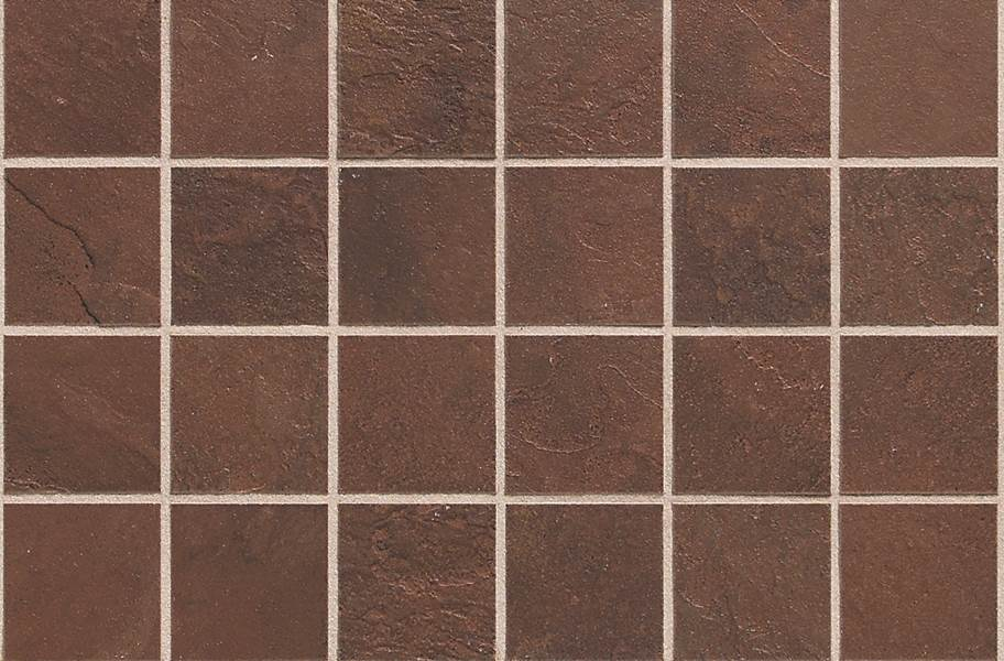 Daltile Continental Slate Mosaic - Indian Red