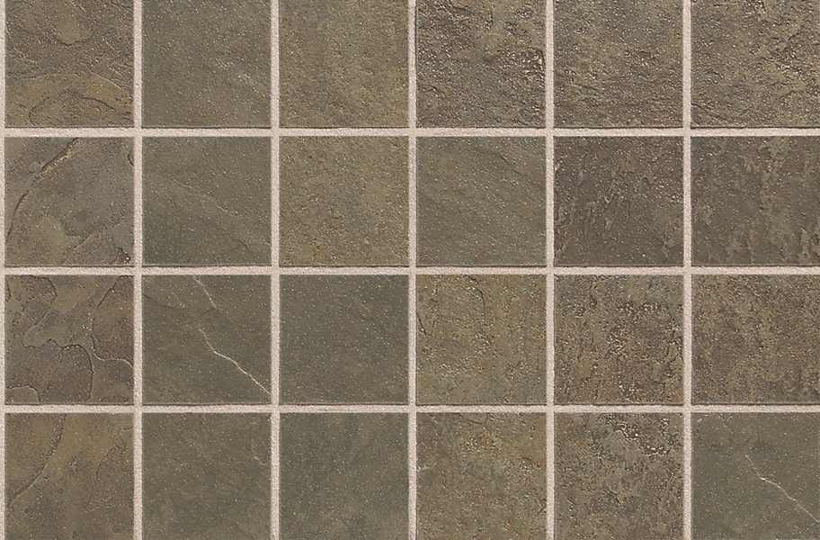 Daltile Continental Slate Mosaic - Brazilian Green