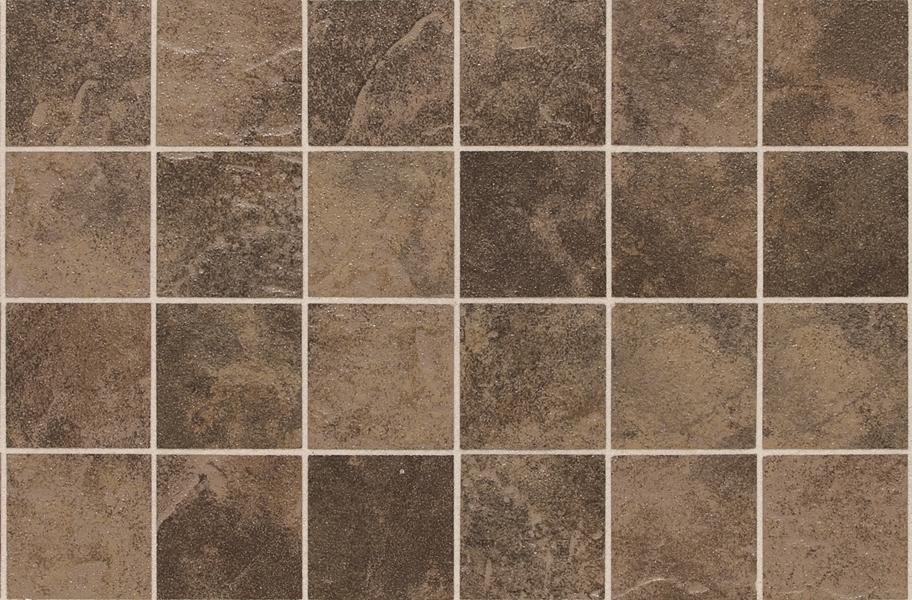 Daltile Continental Slate Mosaic - Moraccan Brown