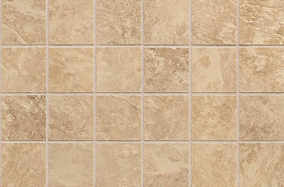 Daltile Continental Slate Mosaic - Egyptian Beige
