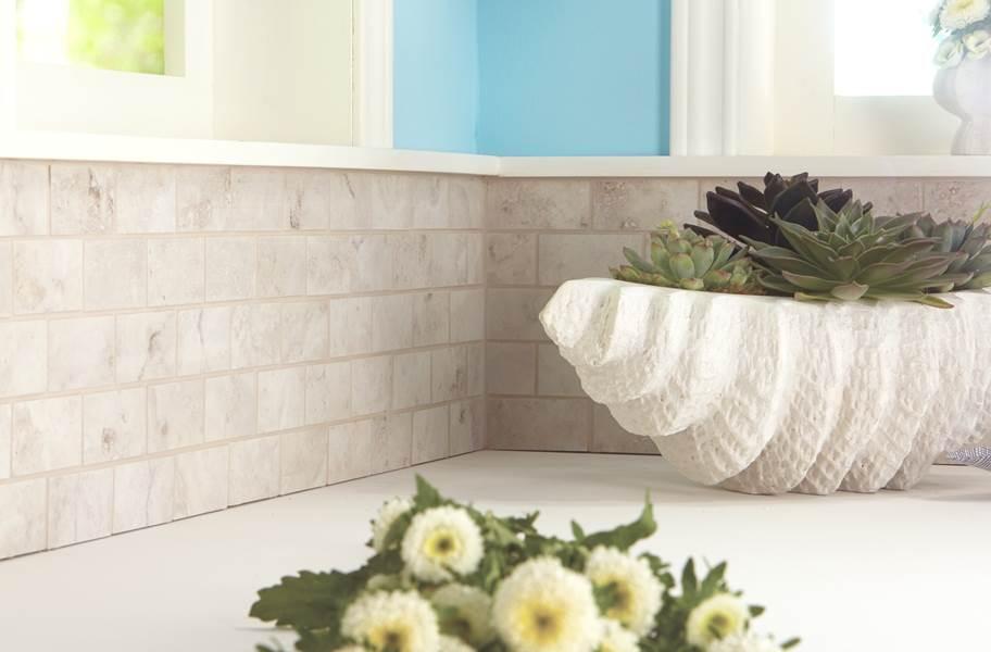 Daltile Esta Villa Mosaic - Garden White