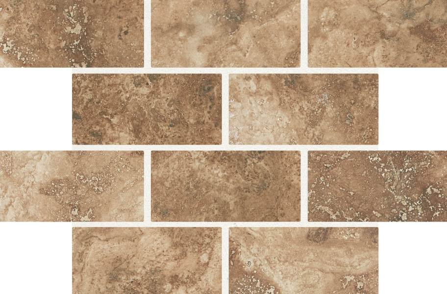 Daltile Esta Villa Mosaic - Cottage Brown