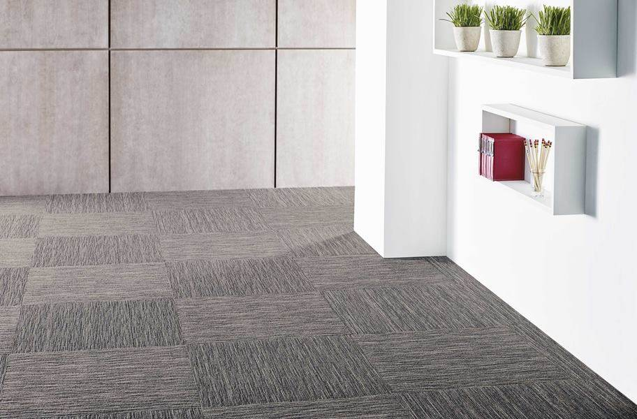 Shaw Intellect Carpet Tile - Overstock - Sharp (`1/4 Turn)