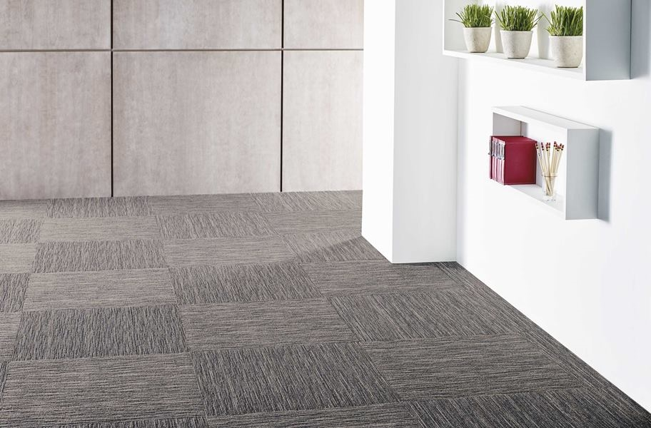 Shaw Intellect Carpet Tile - Overstock - Sharp (`1/4 Turn)