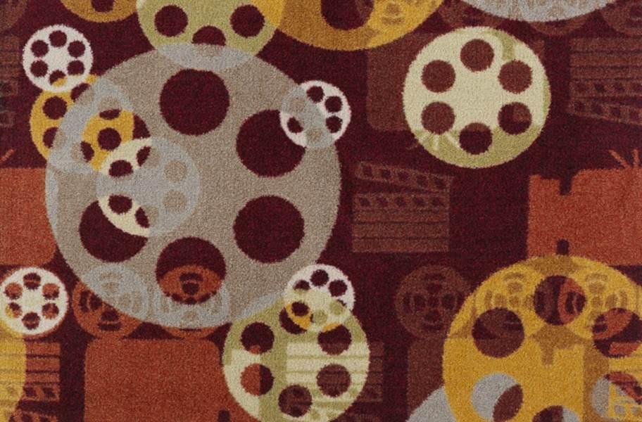 Joy Carpets Blockbuster Carpet - Burgundy