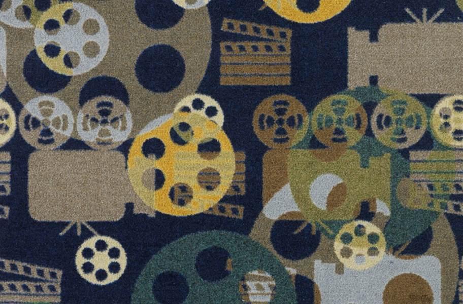 Joy Carpets Blockbuster Carpet - Navy