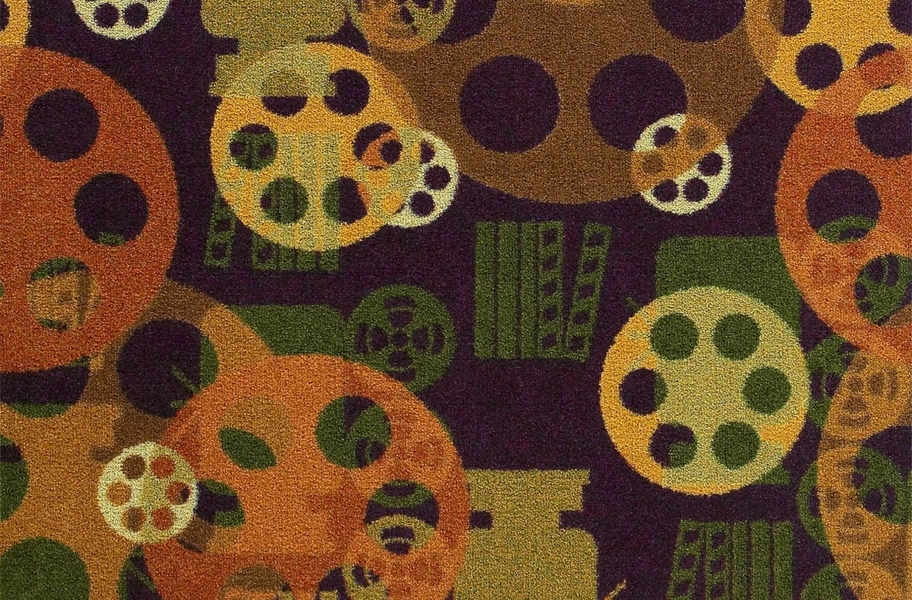 Joy Carpets Blockbuster Carpet - Plum