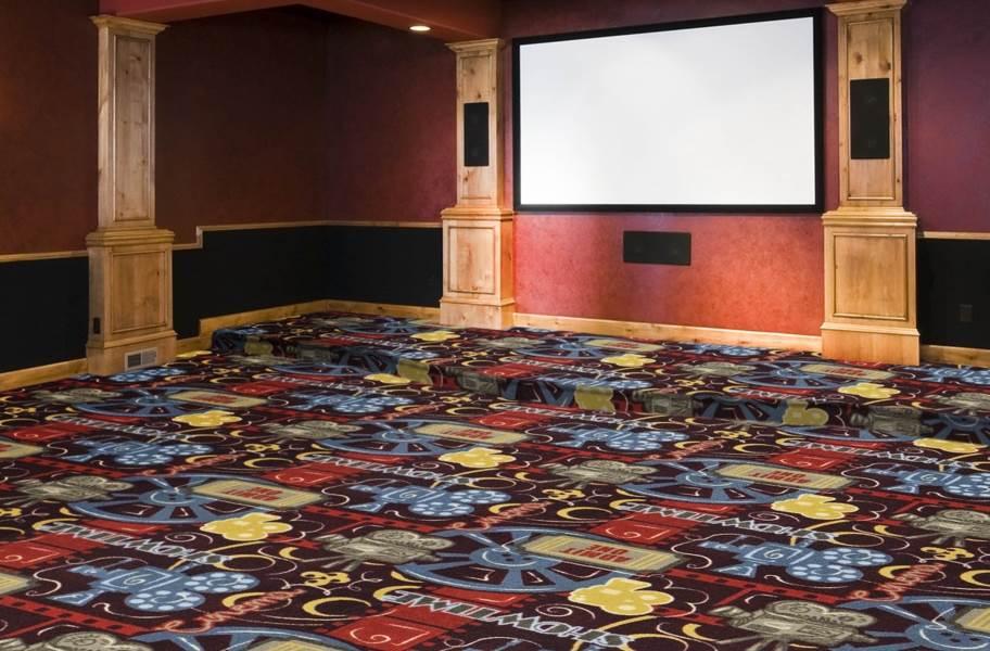 Joy Carpets Camera Ready Carpet - Burgundy