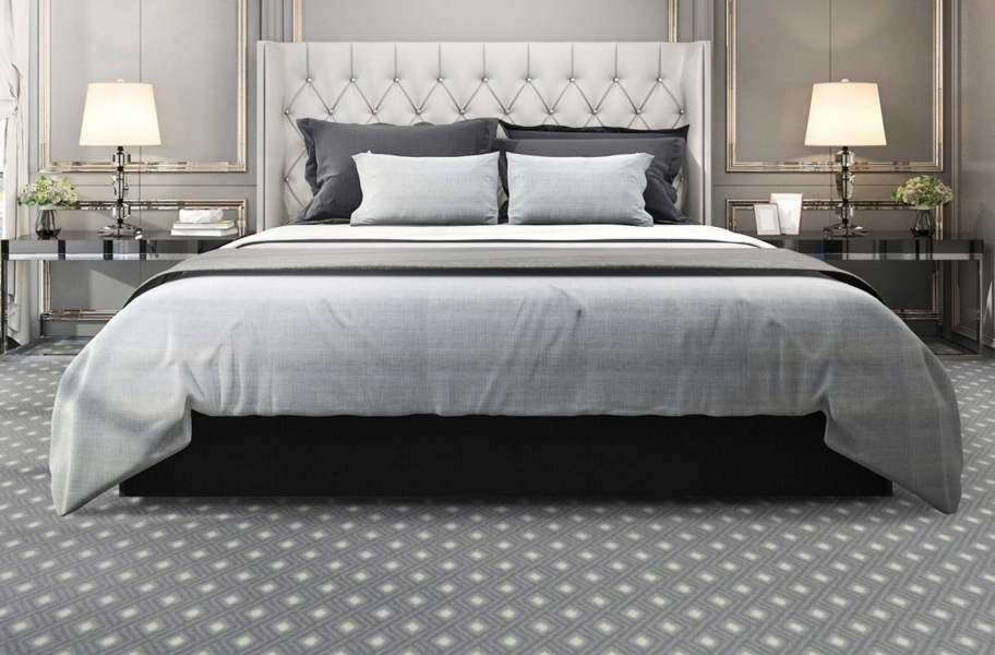 Joy Carpets Diamond Lattice Carpet - Midnight