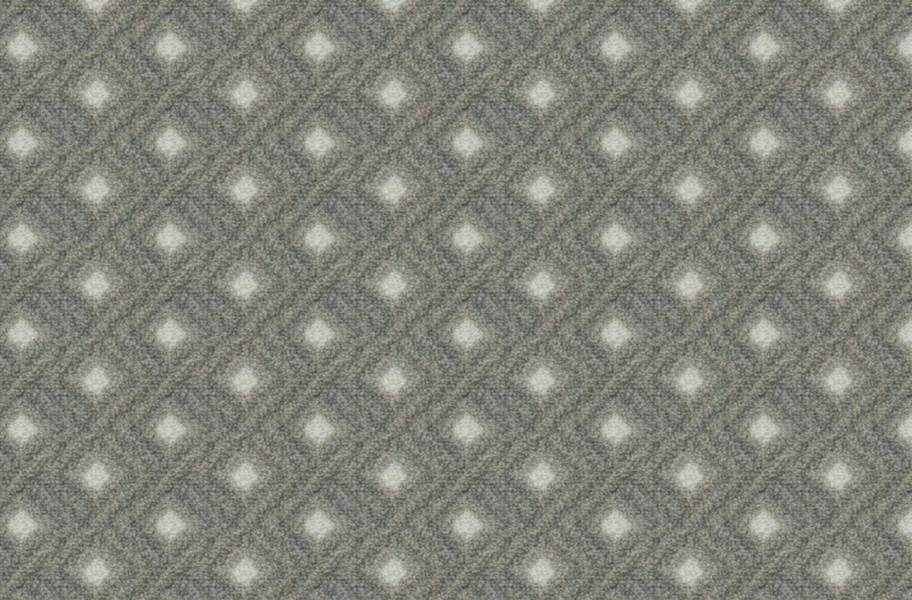 Joy Carpets Diamond Lattice Carpet - Pewter