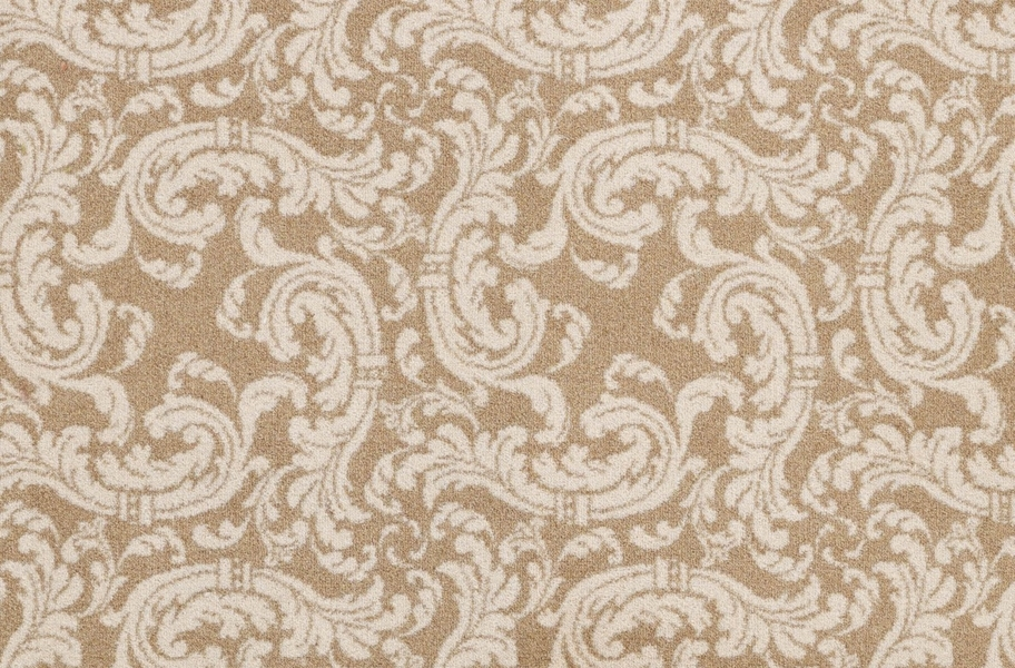 Joy Carpets Scrollwork Carpet - Beige