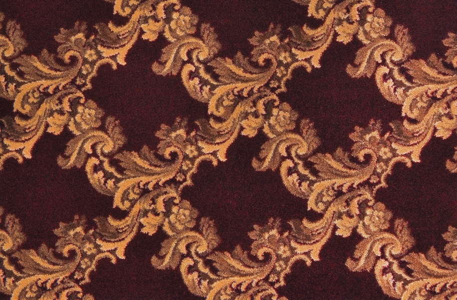 Joy Carpets Corinth Carpet - Burgundy