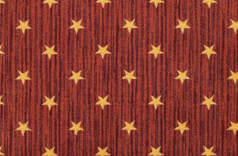 Joy Carpets Curtain Call Carpet - Red
