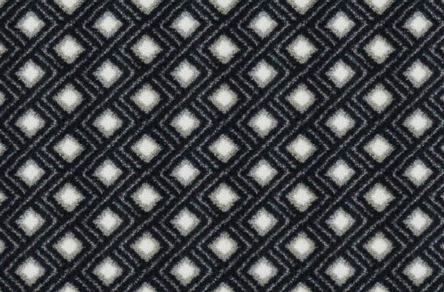 Joy Carpets Diamond Lattice Carpet - Charcoal