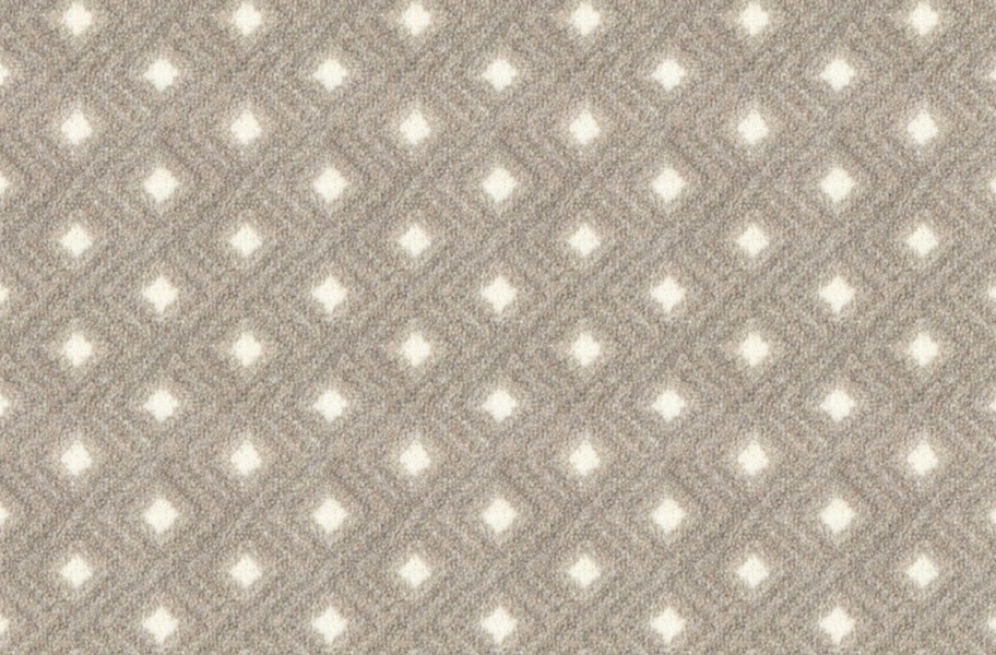 Joy Carpets Diamond Lattice Carpet - Dove