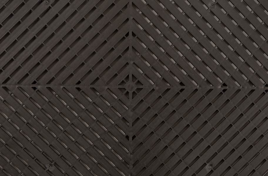 Ribtrax Smooth Tiles - Jet Black