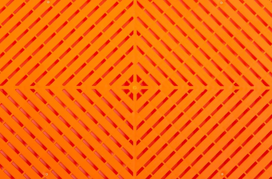 Ribtrax Smooth Tiles - Tropical Orange