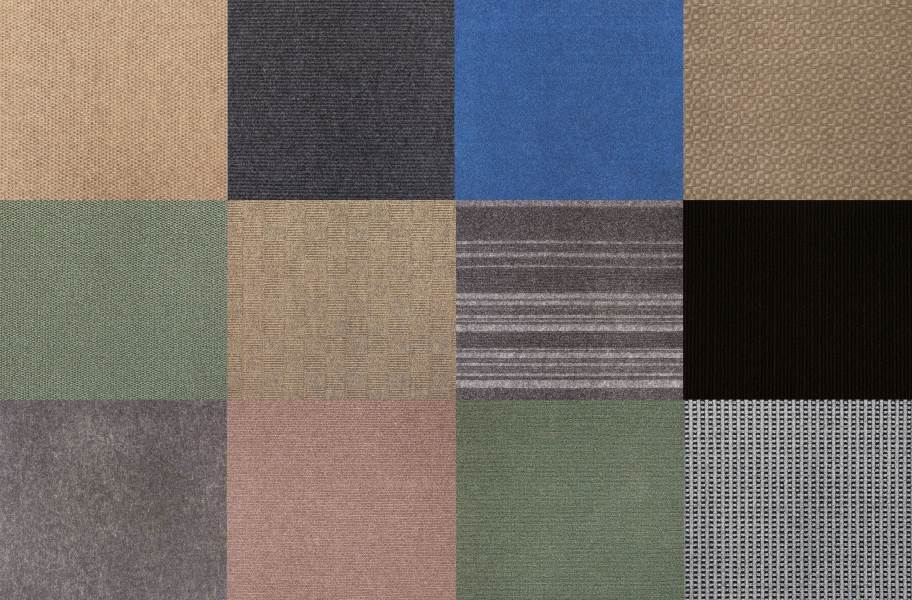 Infinite Carpet Tiles - Assorted - Assorted