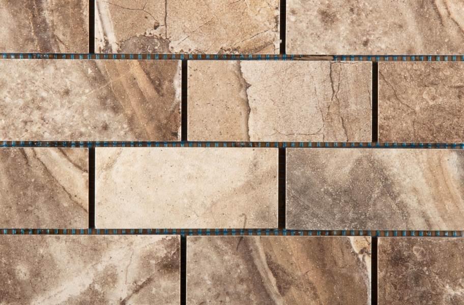 Emser Tile Eurasia Mosaic - Noce