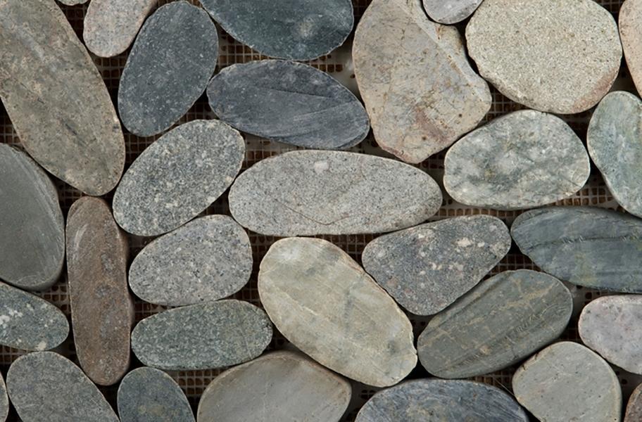 Emser Tile Venetian Flat Pebbles - Multicolor