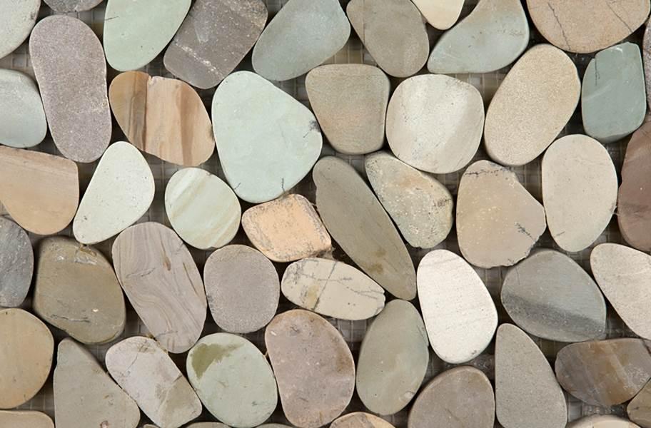 Emser Tile Venetian Flat Pebbles - Pastel