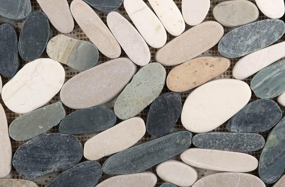 Emser Tile Venetian Flat Pebbles - 4 Color