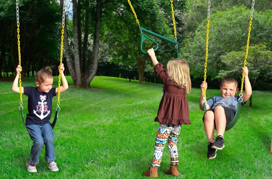 Sun Valley Wooden Swing Set