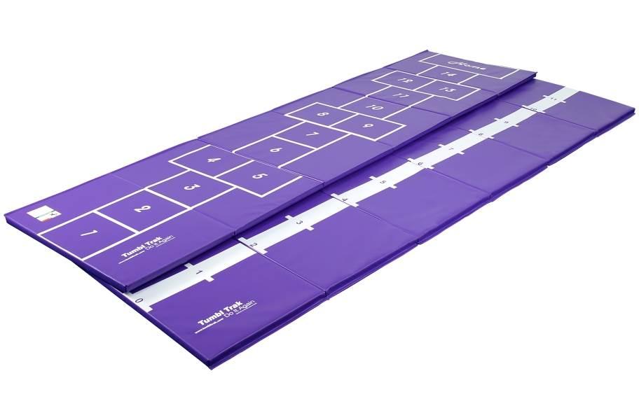 Hopscotch Mat - Purple