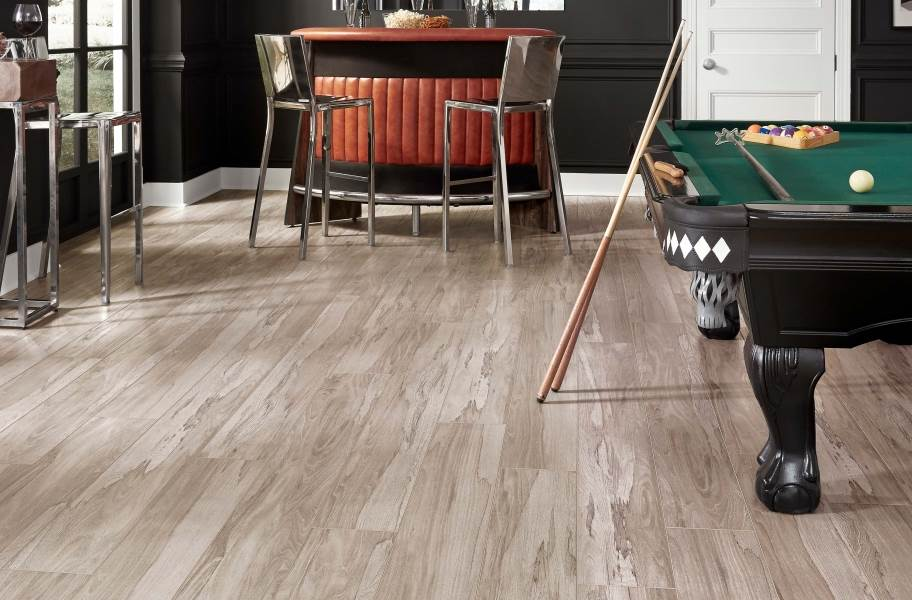 "Adura Max Apex 8"" Waterproof Vinyl Planks - Spalted Wych Elm Dew"