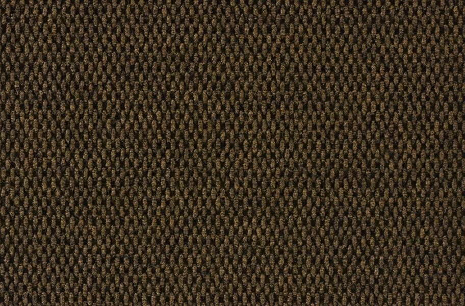 Peel & Stick Walk Off Tiles - Mahogany Hobnail